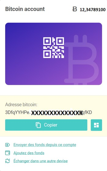 WIREX CARTE PREPAYEE BITCOIN